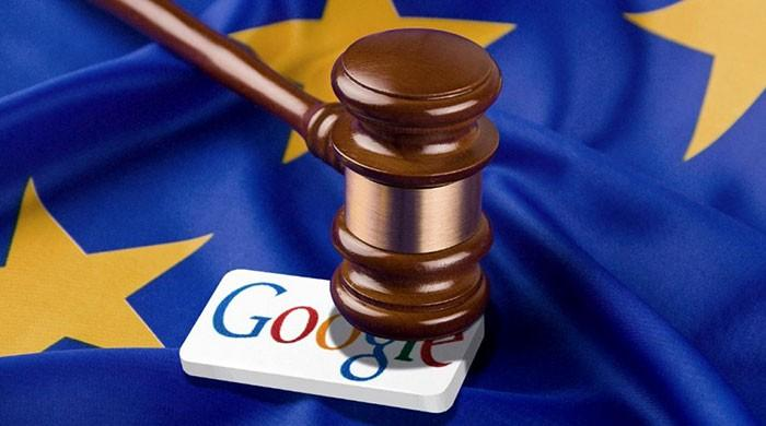 EU fines Google 1.49 bn euros for anti-trust breach