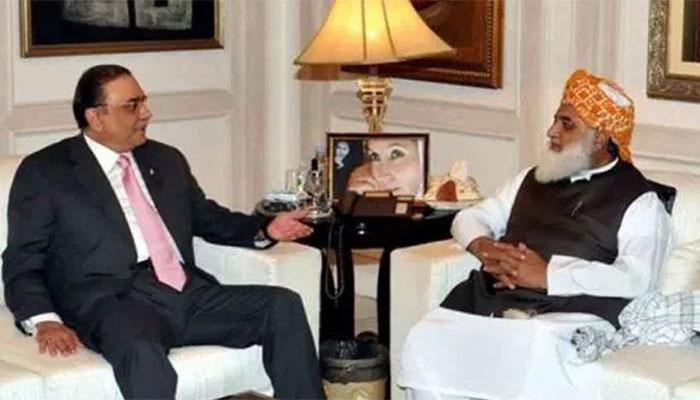 Zardari, Fazl express dissatisfaction over govt's