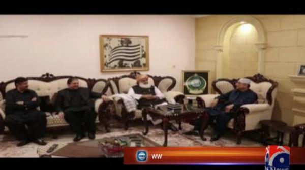 Asif Ali Zardari Meet Fazal-ur-Rehman In Islamabad