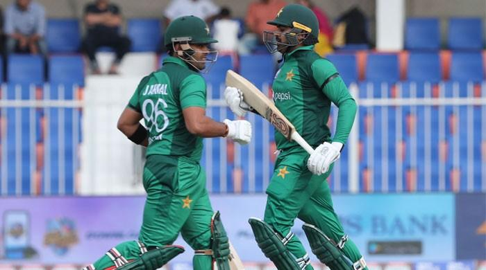 Haris maiden hundred lifts Pakistan to 280 in first ODI
