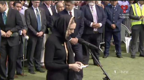 Mutual kindness, compassion, and sympathy: PM Ardern leads mourners for a prayer