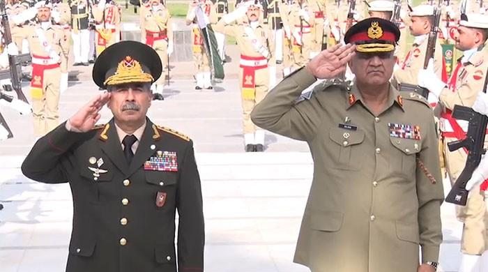 Azerbaijan's defence minister calls on COAS