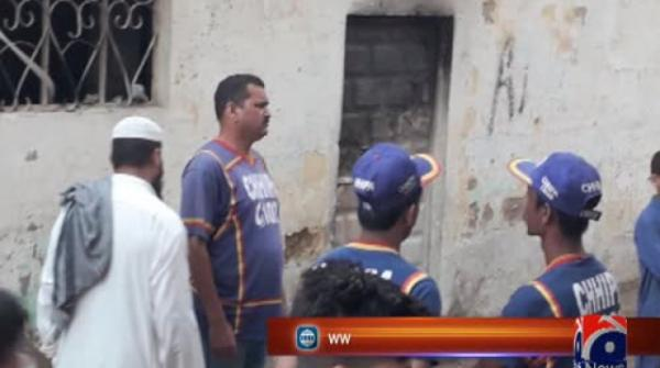 Mother, two children killed in Karachi fire