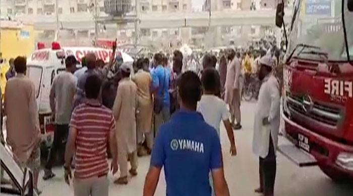 Two killed, three injured in explosion at Karachi CNG station
