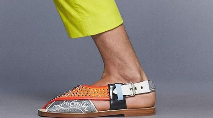 Christian Louboutin introduces Peshawari chappal's variant as 'Imran Sandals'