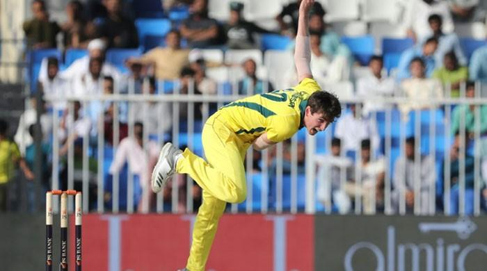 Aussie bowler Richardson heads home with dislocated shoulder