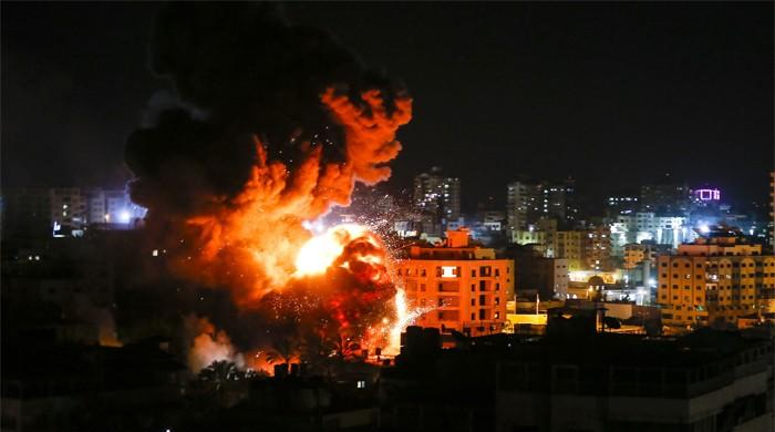 Israel strikes Gaza after rare rocket attack near Tel Aviv
