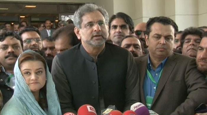 Nawaz granted relief despite attempts by Punjab, federal govt: Khaqan Abbasi