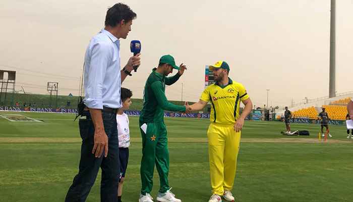 Finch, Maxwell, Cummins Zampa shine as AUS seal series against PAK