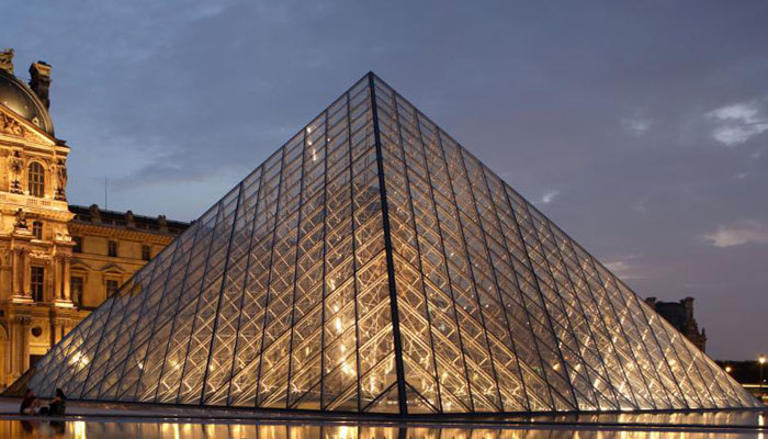 Image result for From outrage to icon: Paris marks 30 years of Louvre's pyramid