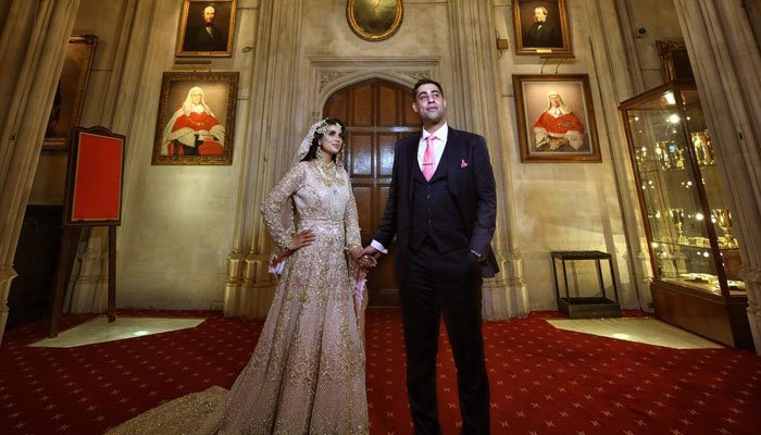 First Pakistani wedding at Lincoln's Inn in its 600-year history