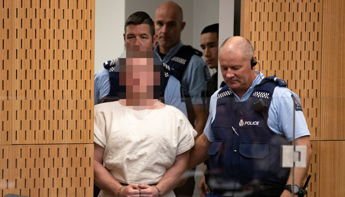 Victims' families watch as Christchurch shooting accused appears in court