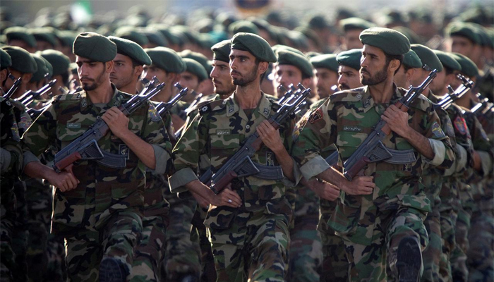 U.S.  designates Iran elite military forces as foreign terrorist organisation