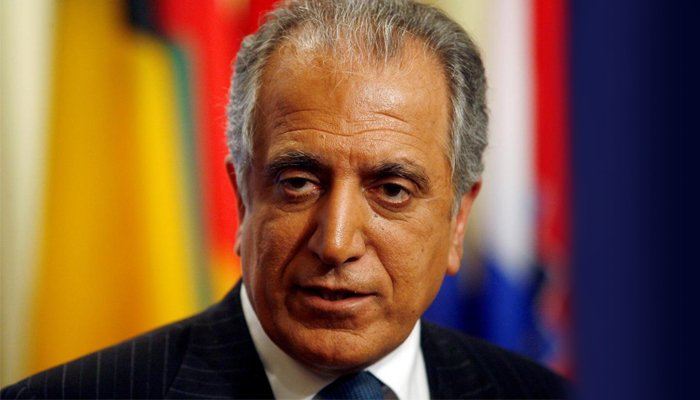 USA envoy Khalilzad thanks Pakistan for efforts supporting Afghan peace process