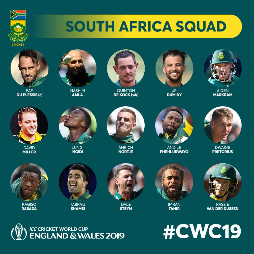 Amla Included In South Africa S 15 Member World Cup Squad