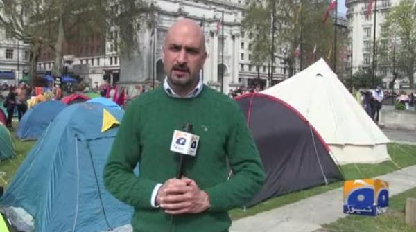 Geo News Special - Extinction Rebellion Protesters Block London's Roads
