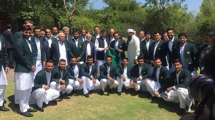 PM Imran meets Pakistan's ICC Cricket World Cup squad