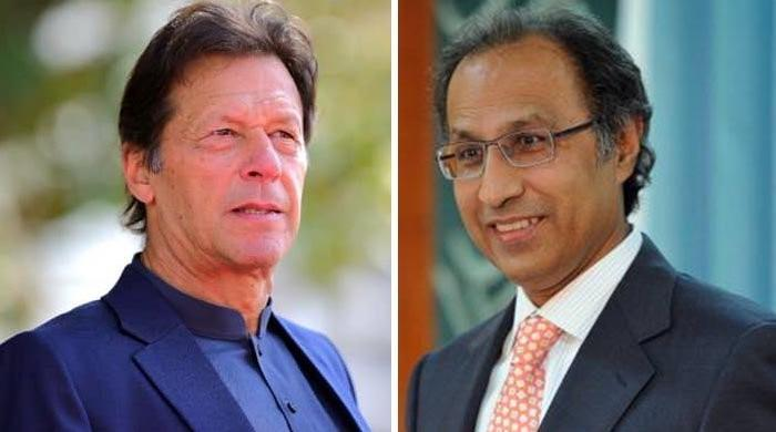 PM Imran meets finance adviser Dr Abdul Hafeez Sheikh