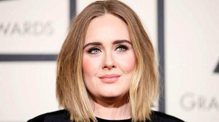 British pop singer Adele parts with husband
