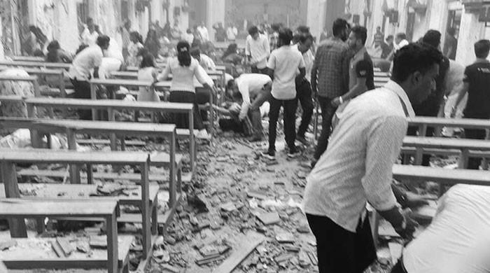 At least 80 injured in Sri Lanka church blasts: hospital official