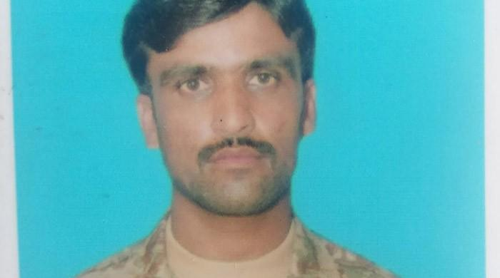 Lance Naik Zafar Iqbal, injured in Peshawar operation, embraces martyrdom