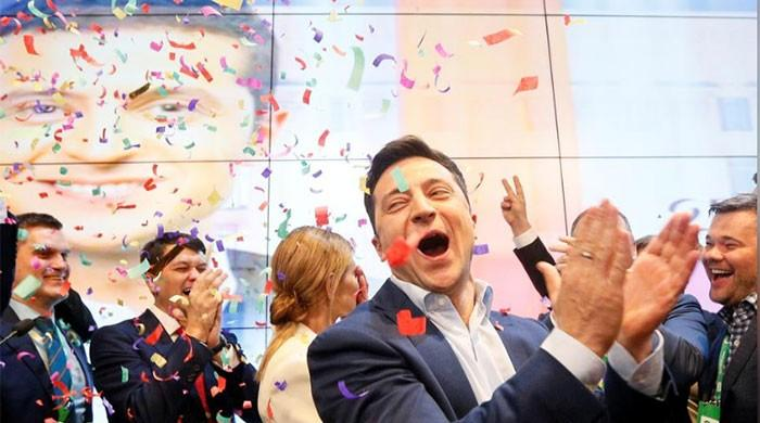 Ukraine enters uncharted waters after comedian wins presidency
