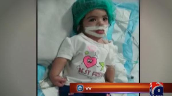 9-month-old who suffered brain damage due to staff negligence at Karachi hospital passes away