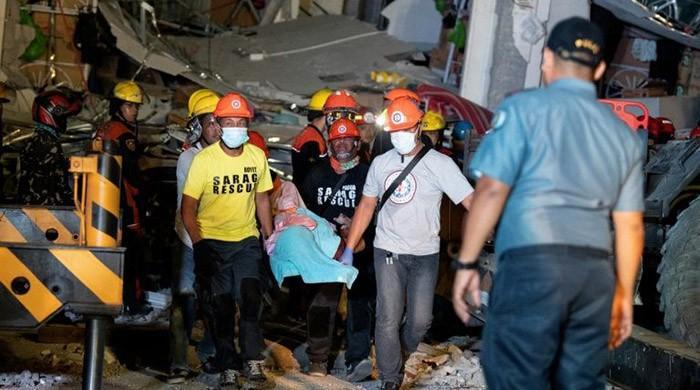 Frantic hunt for survivors after deadly Philippine quake