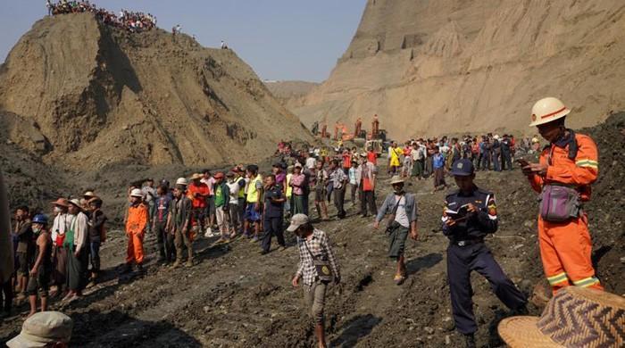 More than 50 feared killed in landslide at Myanmar jade mine: police