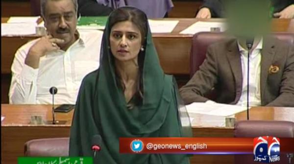 Hina Rabbani Khar lashes out at PM Imran's 'slip of tongue' during NA session