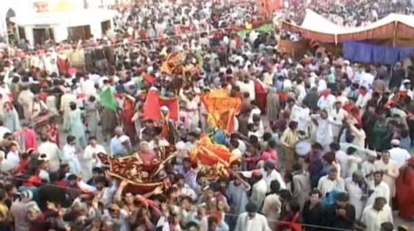 Annual 3-day Urs Of Lal Shahbaz Qalandar begins