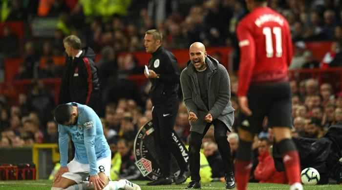 Guardiola's Man City raise the bar as Man Utd fall behind