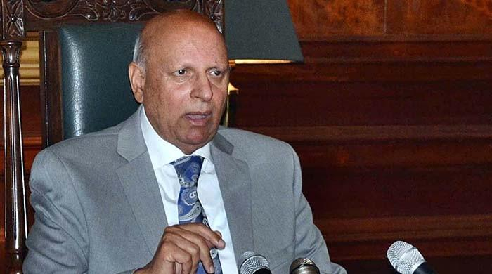Chaudhry Sarwar says he is not quitting as Governor Punjab