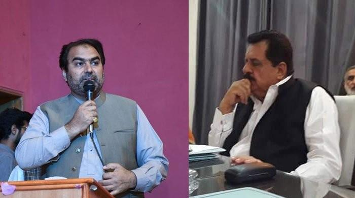 Federal Housing Minister, PTI MPA exchange heated words over municipal issue