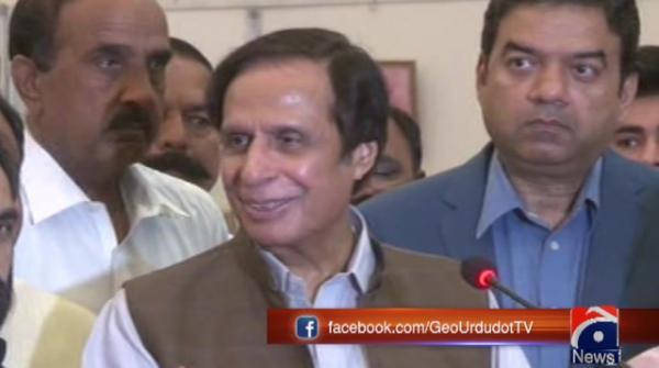 Pervaiz Elahi openly supports Punjab CM Buzdar