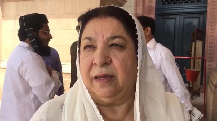 Yasmin Rashid refuses to condemn PM Imran calling Bilawal 'sahiba'