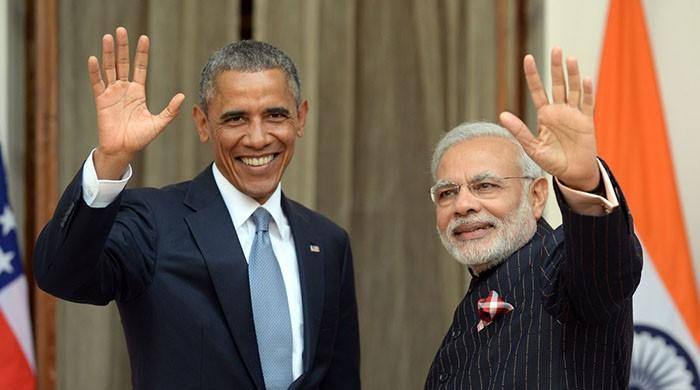 What does Obama ask Modi?