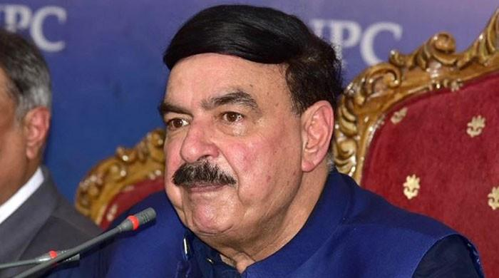 Sheikh Rashid refers to Firdous Ashiq Awan as 'sahab'