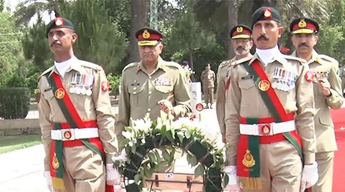 COAS installs Lt Gen Sher Afgun as Col Commandant AK Regiment