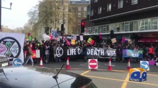 Geo News Special - Unique Protest 'Extinction Rebellion London' Continues in London For 2 Weeks