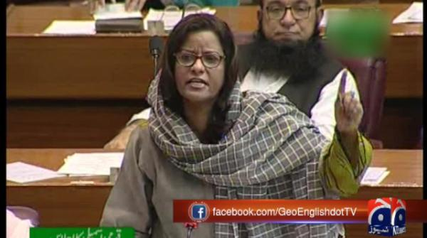 PPP's Nafeesha Shah calls on PM Imran to apologise for sahiba comment
