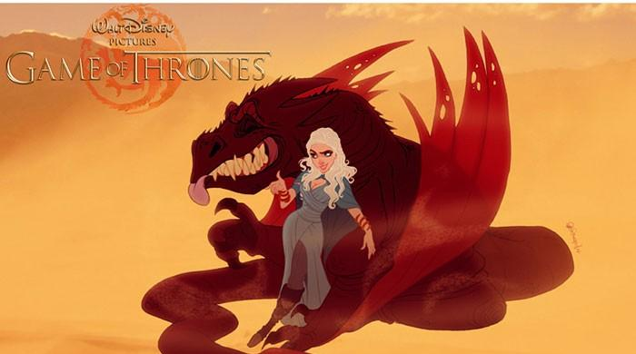 In pictures: Artists re-imagine 'Game of Thrones' characters as Disney cartoons