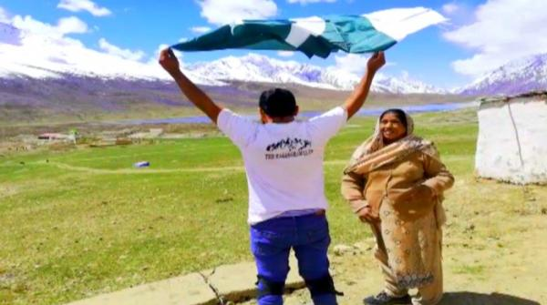 Mother-son biker duo travels to northern most areas of Pakistan