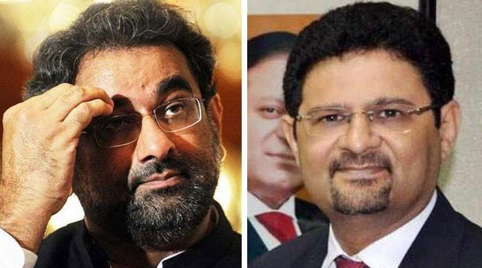 Shahid Khaqan Abbasi, Miftah Ismail's names placed on ECL