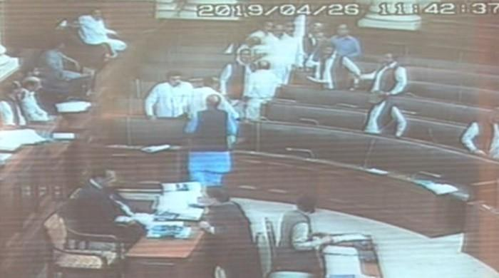 Ruckus in Punjab Assembly: Three opposition MPAs suspended