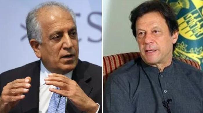US envoy Khalilzad praises PM Imran's statement on Afghanistan