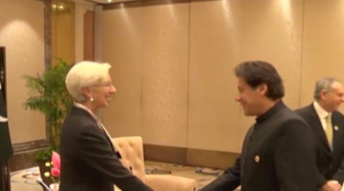 PM Imran Khan meets IMF Director Christine Lagarde