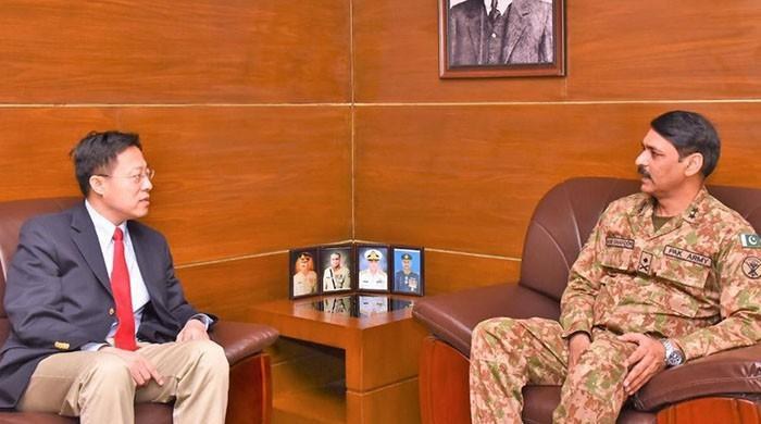 Chinese envoy acknowledges ISPR's efforts for promoting bilateral relations