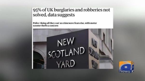 Geo News Special - Burglars Take Asians As Easy Target in London
