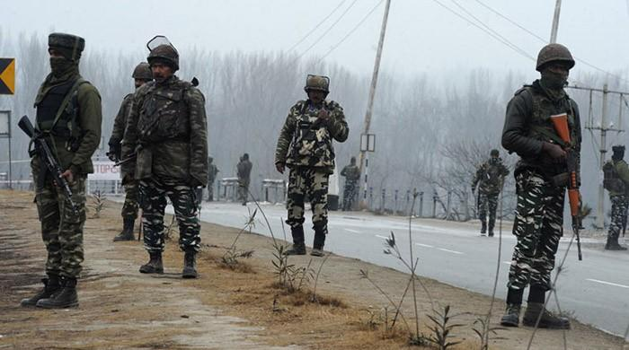 Indian police arrest two dozen youth including PhD scholar in IoK